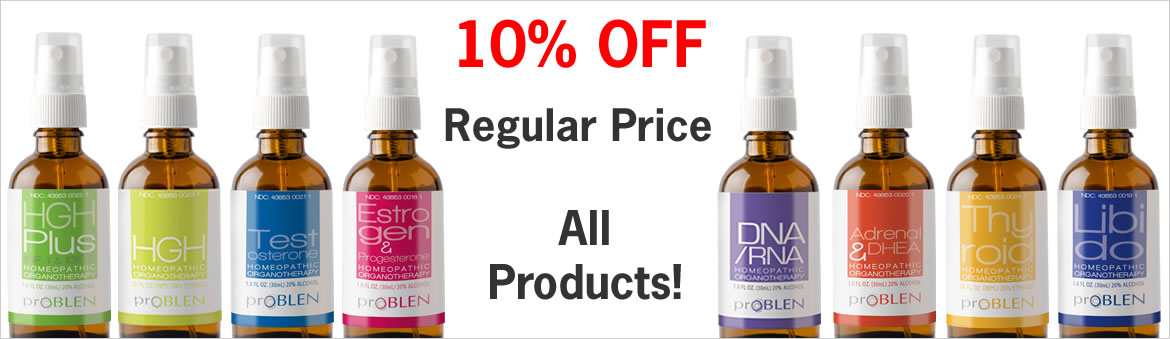 10% Off the Regular Price of All Products!