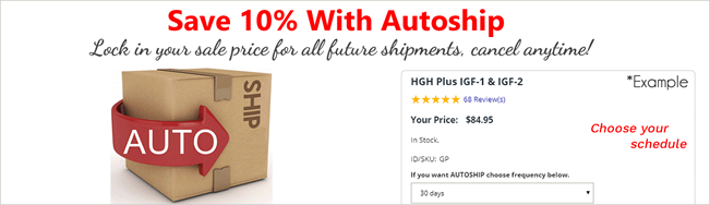 Lock-in your sale price with Autoship!