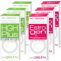 HGH Plus IGF-1 & IGF-2 and Estrogen & Progesterone Combo